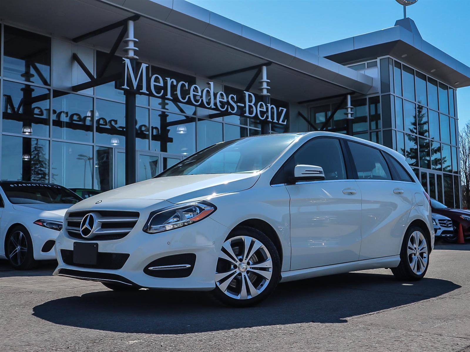 Certified Pre Owned 2017 Mercedes Benz B Cl B250